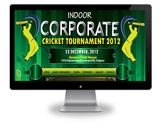 Calgary website development calgary web designs for Indoor cricket net design
